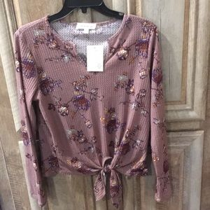"""New With Tags """"Pie In The Sky"""" Top (Women's Large)"""